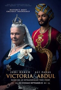 Victoria & Abdul (2017, UK/USA, Dir. Stephen Frears, 112 min, PG) - sold out, extra show 22 November