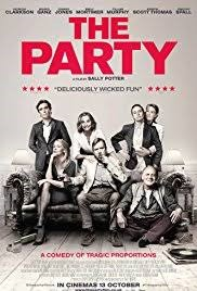The Party (2017, UK, Dir. Sally Potter, 71 mins, 15)