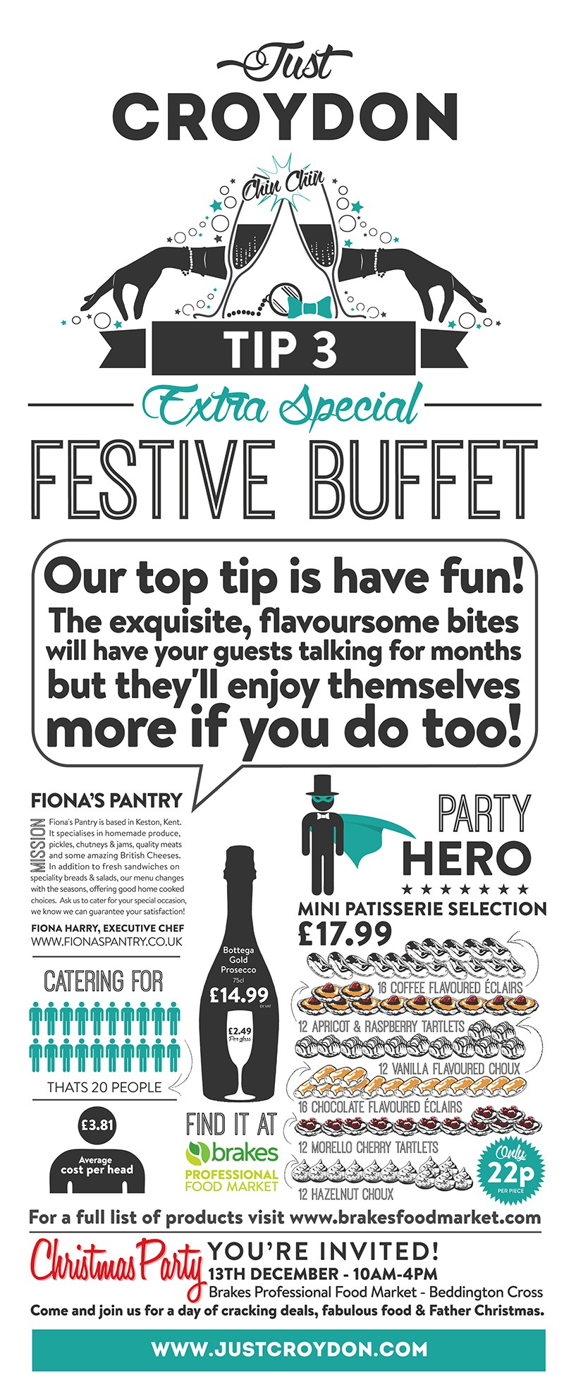 Party Tip 3: Extra Special Festive Buffet