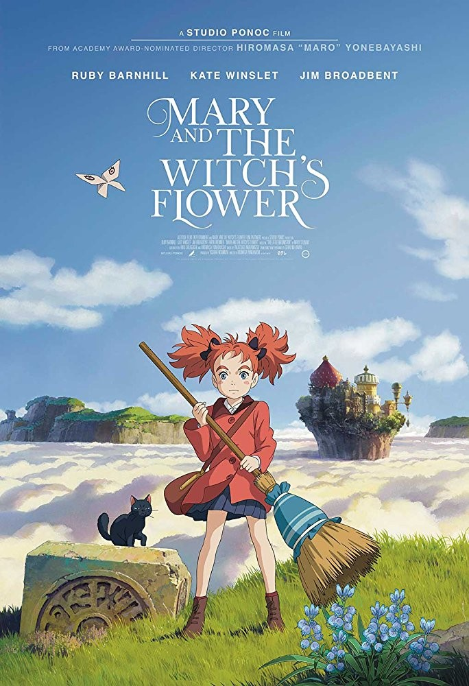 MARY AND THE WITCH'S FLOWER (U) - 2017 Japan 107 min