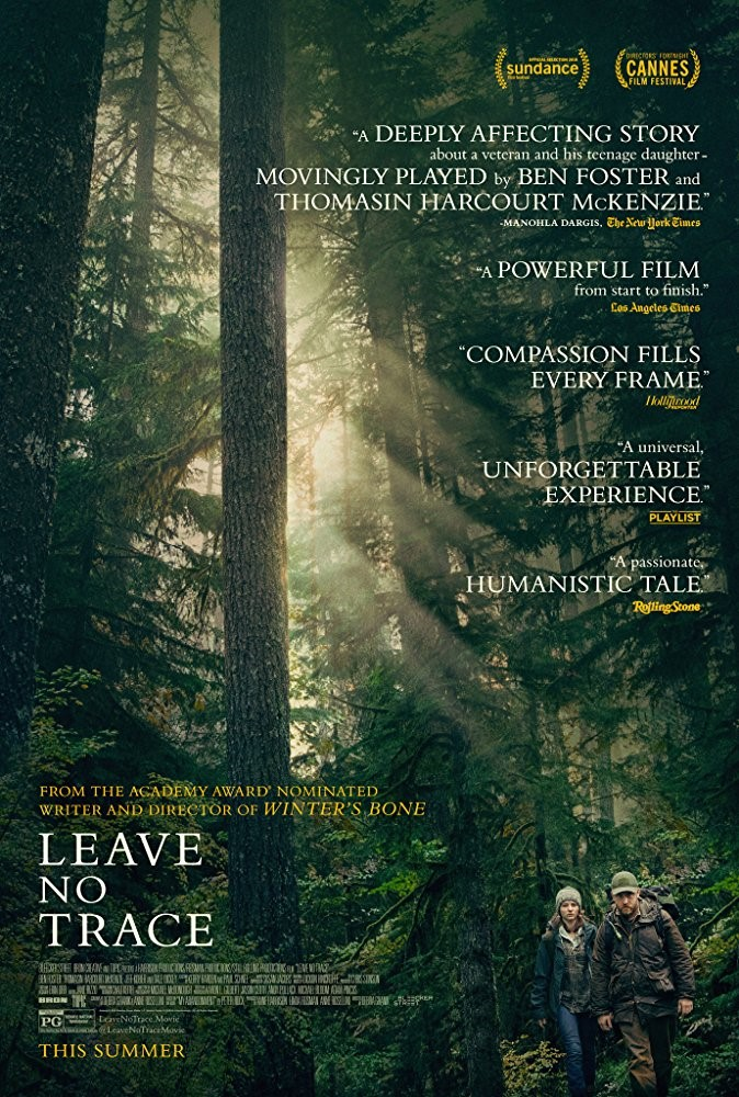 LEAVE NO TRACE (PG) - 2018 USA 109 min