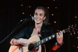 Flossie Malavialle at Croydon Folk Club on Monday 4th June