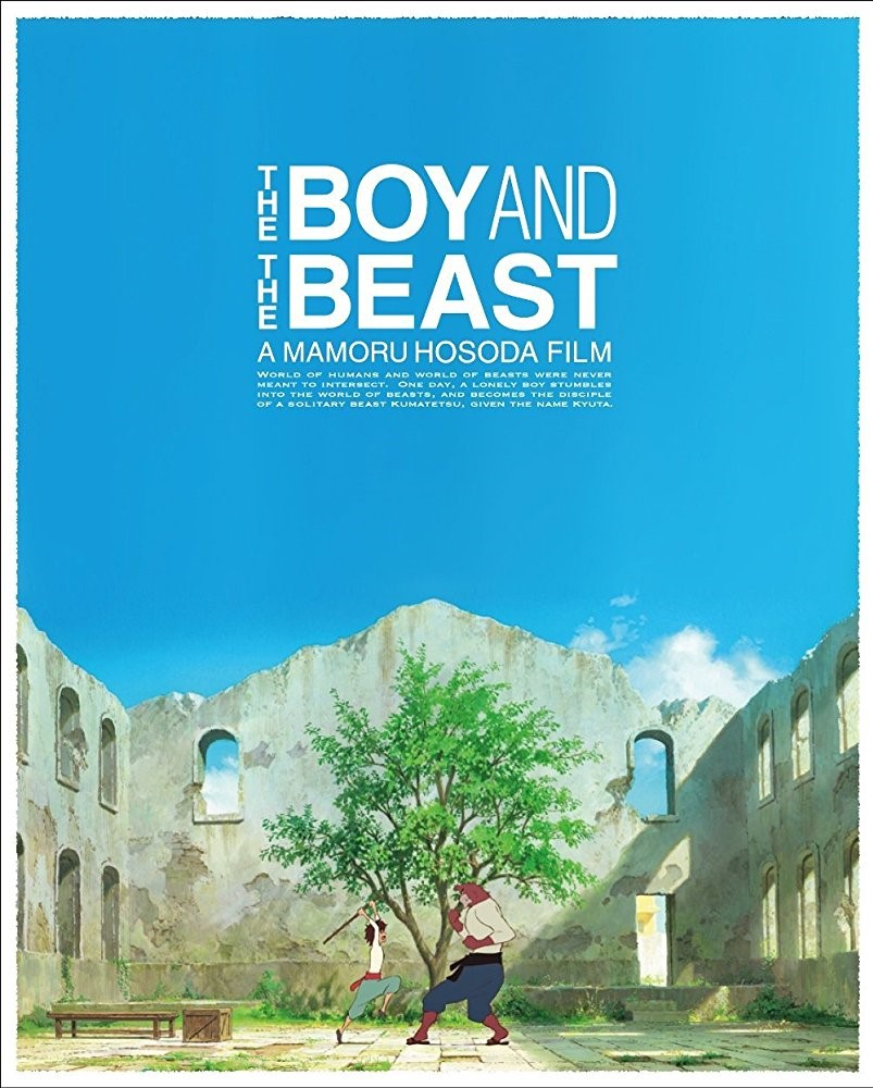 THE BOY AND THE BEAST (12A) - 2015 Japan 119 min - subtitled