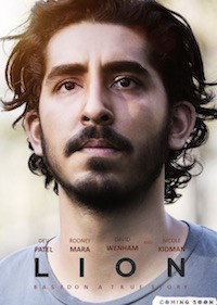 Lion (2016 Aust/USA, 118 mins, PG) - partially subtitled - almost sold out, extra show 5th April