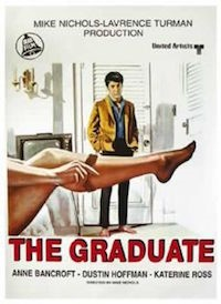 The Graduate (1967, USA, Dir. Mike Nichols, 106 mins, 15) - Summer of Love season