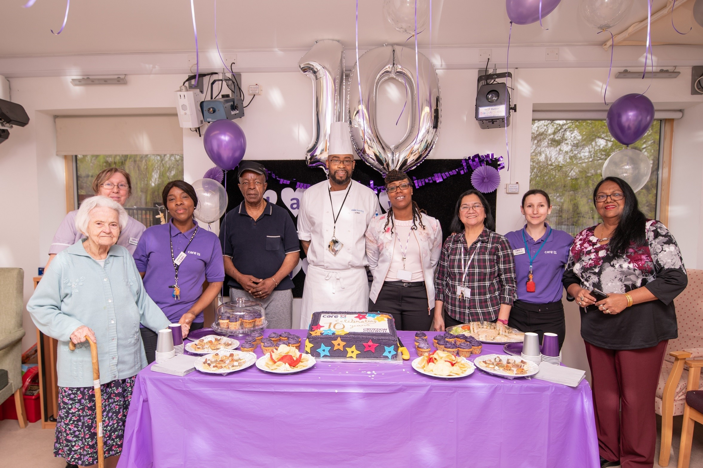 Croydon care home celebrates a decade of memories