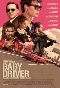 Baby Driver (2017, UK/USA, Dir. Edgar Wright, 112 mins, 15)