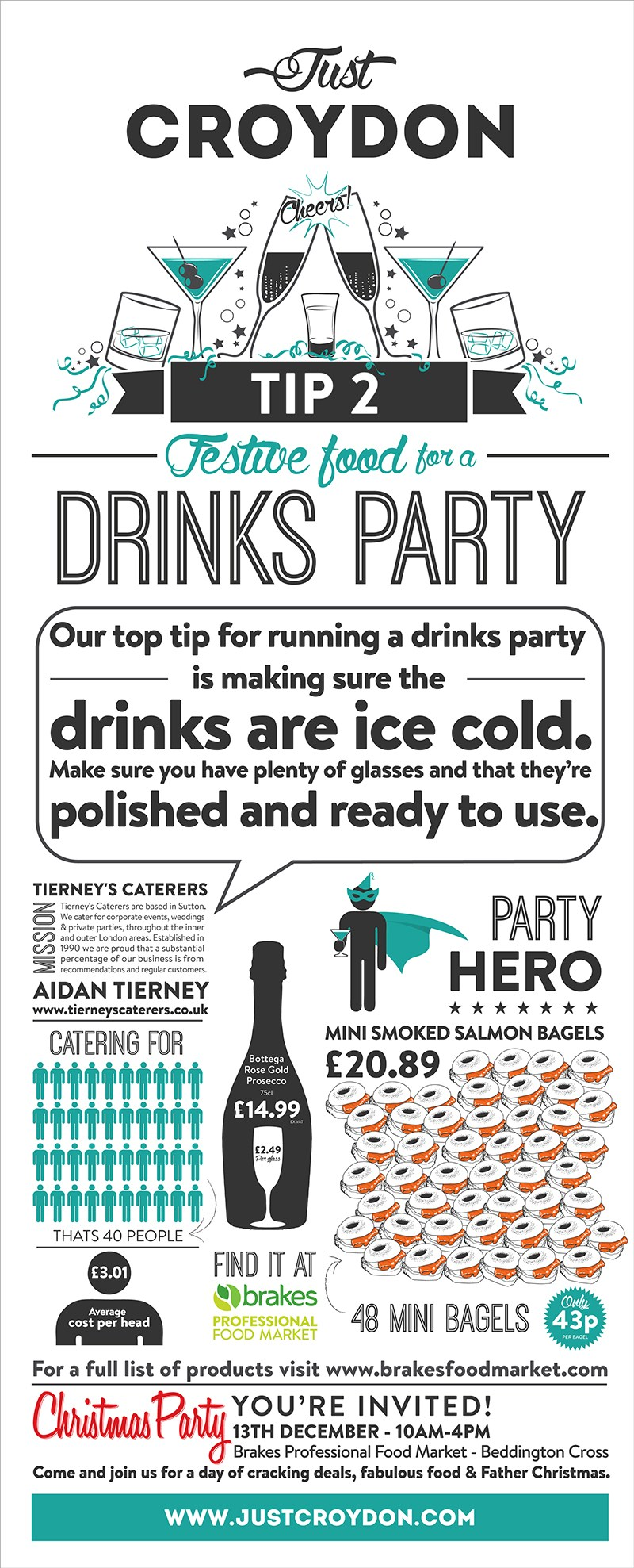 Party Tip 2: Drinks Party