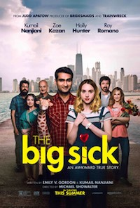The Big Sick (2017, USA, Dir. Michael Showalter, 120 mins, 15) - part subtitled