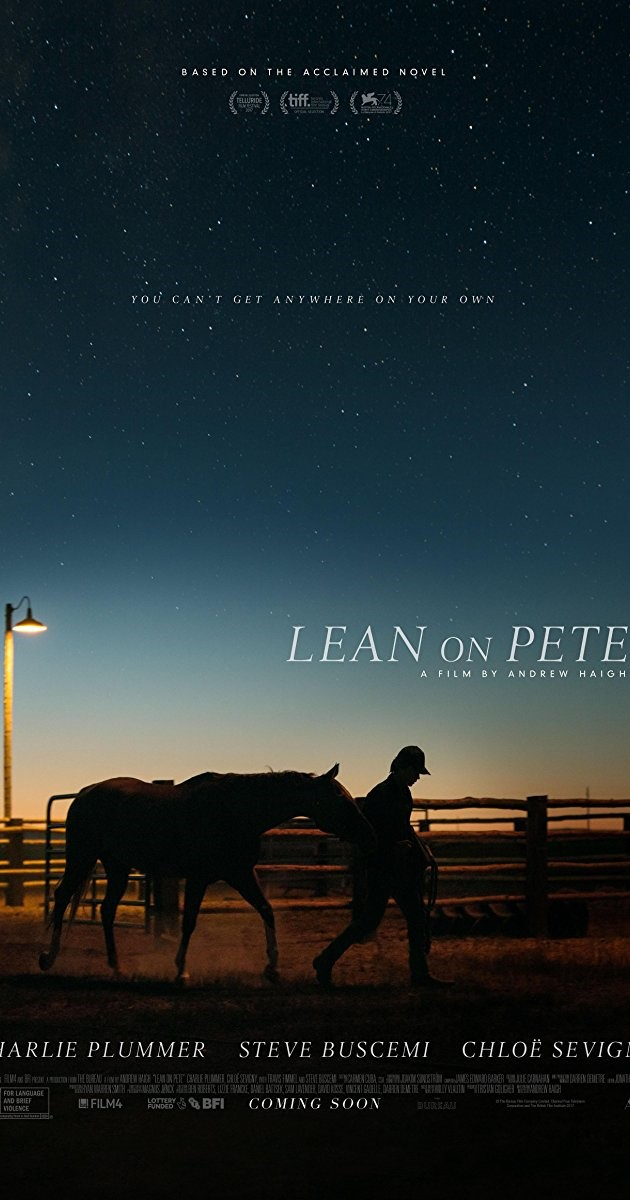 LEAN ON PETE (15) - 2017 UK 121 min