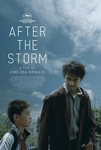 After The Storm (2016, Japan, Dir. Hirokazu Koreeda, 117 mins, PG) - subtitled