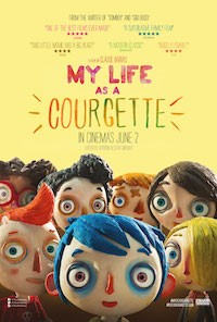 My Life As A Courgette (2016, Switzerland/France, Dir. Claude Barras, 66 mins, PG) - subtitled