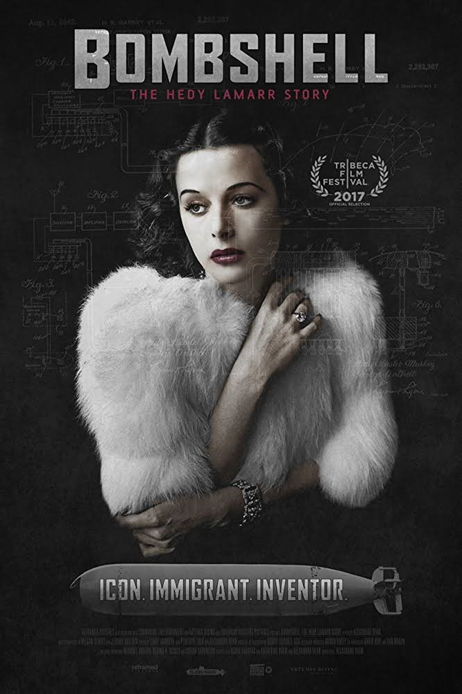 BOMBSHELL: THE HEDY LAMARR STORY (12A) - 2017 USA 88 min