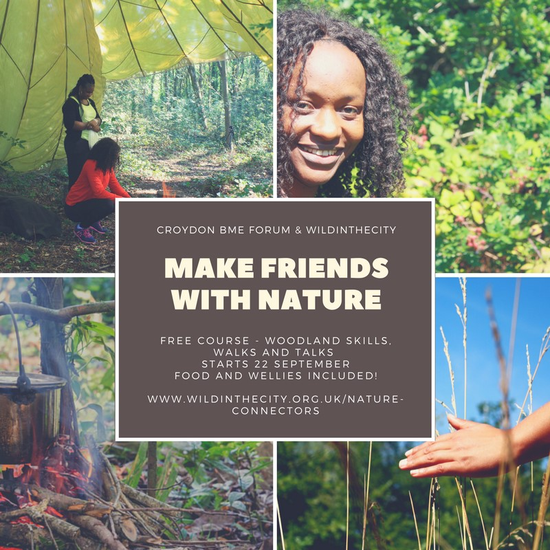 Make Friends with Nature: increasing access to nature for BAME communities in Croydon