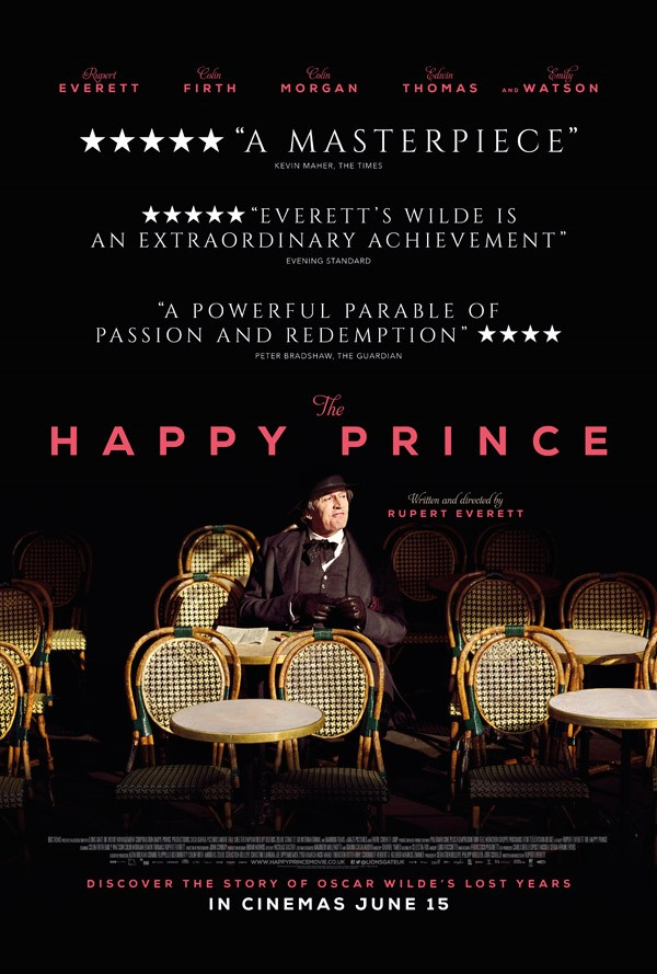 THE HAPPY PRINCE (15) - 2018 UK 105 min