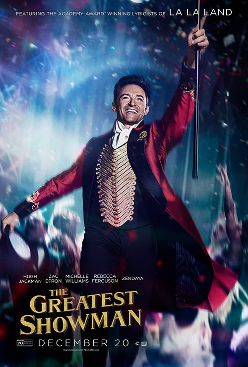 THE GREATEST SHOWMAN (PG) - 2017 USA 105 mins
