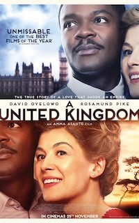 A United Kingdom (2016, 111 Mins, 12A)