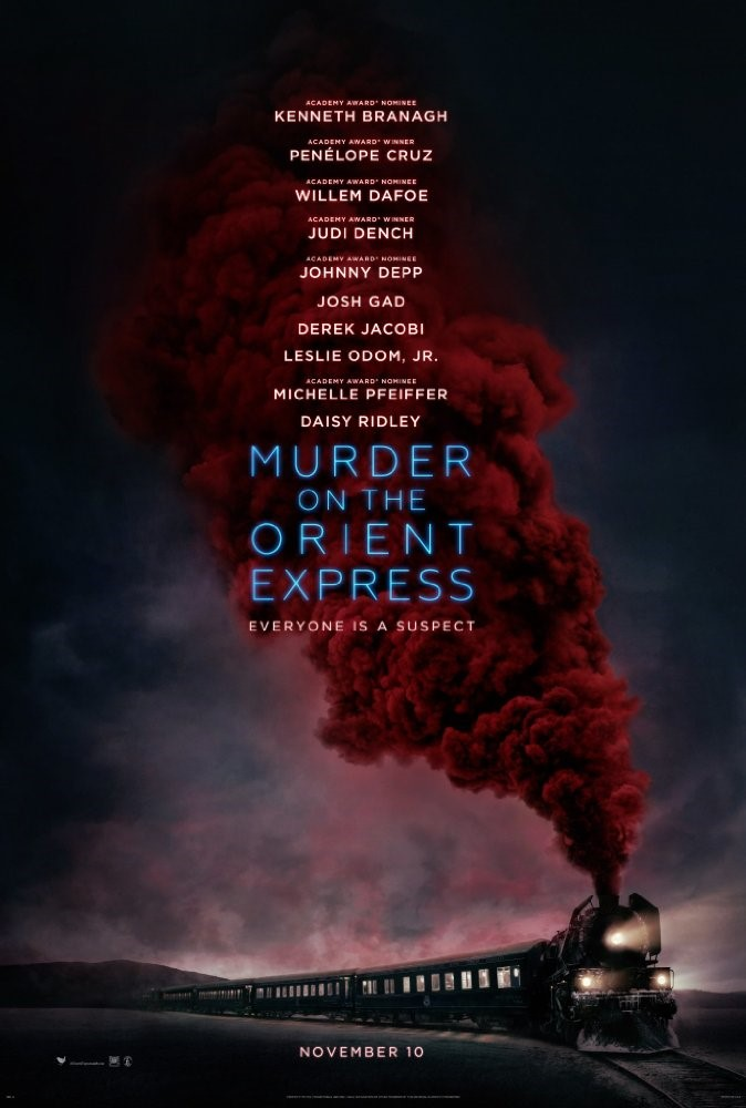 MURDER ON THE ORIENT EXPRESS (12A) - 2017 USA 114 min - extra screening January 2