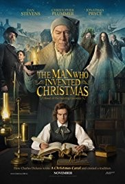 THE MAN WHO INVENTED CHRISTMAS (PG) - 2017 Ireland/Canada 104 min