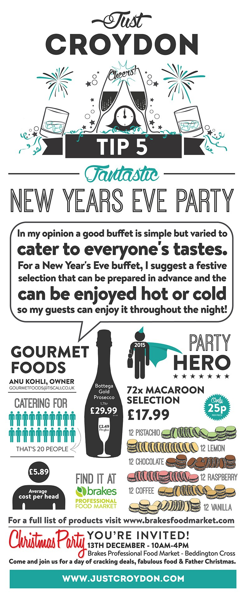 Party Tip 5: Fantastic New Year