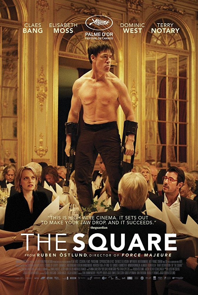 THE SQUARE (15) - 2017 Swe/Ger/Fra/Den 151 min - partially subtitled