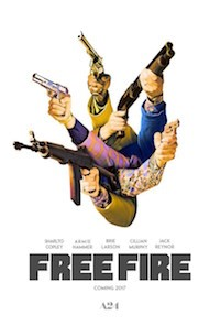 Free Fire (2016, France/UK, Dir. Ben Wheatley, 90 mins, 15)