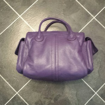 Purple H&M Handbag