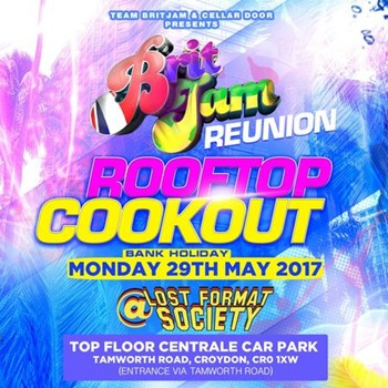 Brit Jam Reunion Rooftop Cookout