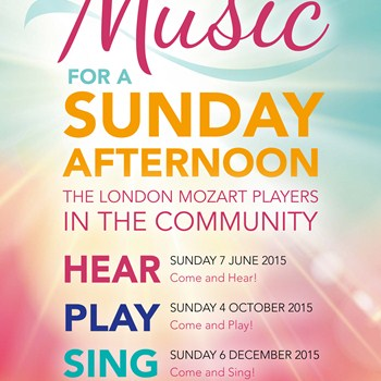 COME & HEAR: Music for a Sunday Afternoon - LMP in the Community